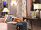 Jeremy Conway Design for Failure to Launch, Paula (Sarah Jessica Parker) and Kit's (Zoey Deschanel) Apartment
